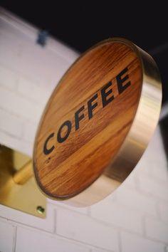 Coffee   Wood   Signage.
