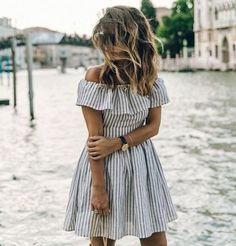 The Beach Nation Summer dresses collection 2018 new striped off shoulder summer dress, Beach Dresses, Summer Party Dress, 2018 Summer Casual Dresses. Shop Now and get up to Off! Simple Dresses, Cheap Dresses, Sexy Dresses, Cute Dresses, Short Sleeve Dresses, Mini Dresses, Prom Dresses, Awesome Dresses, Sleeveless Dresses