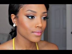 12 Gorgeous Summer Makeup Tutorials for Black Women