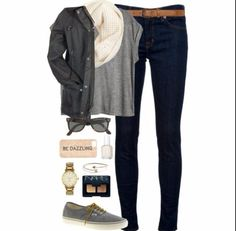 Cute outfit for school or a day out: