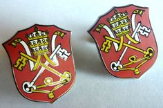 HOLY SEE Vatican Pope Catholic Seal CUFF LINKS Cufflink Set