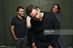 Actors Emile Hirsch, Ethan Hawke and Avan Jogia from 'Ten Thousand Saints' pose for a portrait at the Village at the Lift Presented by McDonald's McCafe during the 2015 Sundance Film Festival on January 23, 2015 in Park City, Utah.