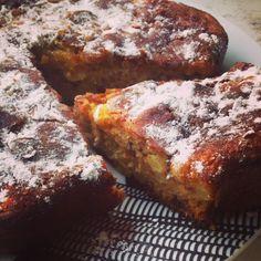 A B C vos IG: Gâteau moelleux pommes et cannelle (IG bas)