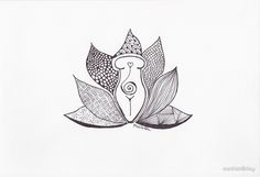 """""""Lotus Goddess (basic)"""" by mathistillday 