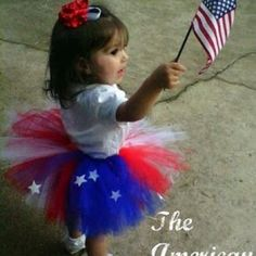 DIY baby / toddler / little girl tutu tutorial for the Fourth of July! Red white and use with stars. Becoming Martha: Momma's Little Firecracker Little People, Little Ones, Little Girls, Girls Fun, No Sew Tutu, Independance Day, Tutu Tutorial, Let Freedom Ring, We Are The World
