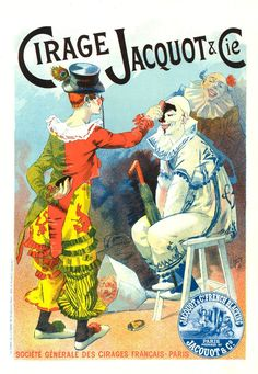 Poster for Cirage Jacquot et Cie by Lucien Lefevre