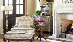 Providence Ltd. Design  Valley Falls Estates living room.