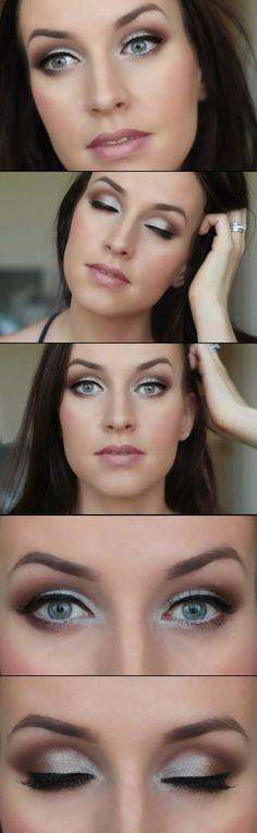 Making blue eyes look big