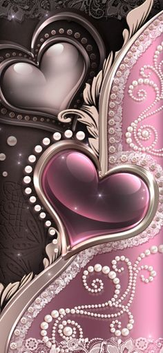 Cellphone Wallpaper, Pink Love, Hearts, Wallpapers, Cover Photos, Cover Pages, Backgrounds, Wallpaper, Cell Phone Wallpapers