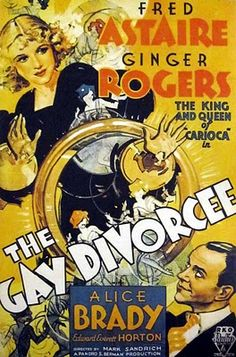 Directed by Mark Sandrich. With Fred Astaire, Ginger Rogers, Alice Brady, Edward Everett Horton. An American woman travels to England to seek a divorce from her absentee husband, where she meets - and falls for - a dashing performer. Old Movie Posters, Classic Movie Posters, Cinema Posters, Classic Movies, Film Posters, Ginger Rogers, Fred Astaire, Old Movies, Vintage Movies