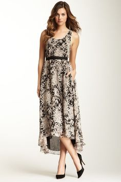 Halston Heritage  Belted Day Dress