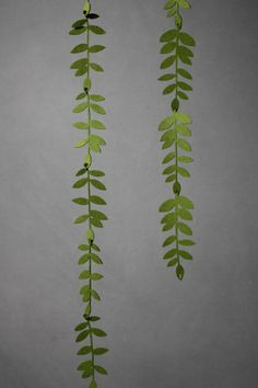 Felted Foliage Garland!   so beautiful!! would be amazing in a children's room with touches of whimsy and nature