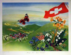 Switzerland by Eidenbenz 1948 3