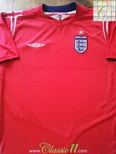 2004 05 England Away Football Shirt (L) ba96f5d30