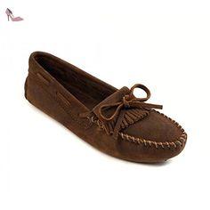Minnetonka , Mocassins pour femme - Marron - Marron, 39.5 EU - Chaussures minnetonka (*Partner-Link)