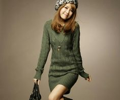 I think you'll like Classic Twist Knitted V-Neck Long Sweater Army Green. Add it to your wishlist!  http://www.wish.com/c/51e220877d41a23759c7b338
