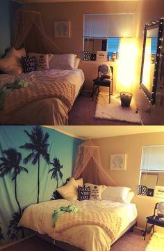 Decorate-Walls-with-Cloth   DIY Ikea Hacks for Teen Bedroom