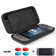 Maxboost Nintendo Switch Travel Case, Protective Hard Case with 10 Game Cartridges Slots Holder, Double Zipper Design, Soft Padded Divider Card Bag Case for Nintendo Switch (Red) Xbox 360, Playstation, Nintendo Ds, Nintendo Switch Games, Wii U, Leather Work Gloves, Gold Chains For Men, Works With Alexa, Portable Charger