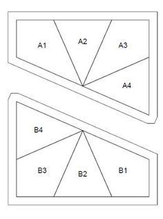 Red Pepper Quilts: Kaléidoscope bloc et Modèle Free Foundation papier Piecing