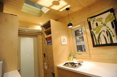 The Dragonfly tiny house, designed and built by Regina-based, Robinson Residential Design. Currently available for sale at $75,000 CAD ($57,278 USD).