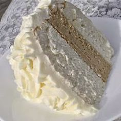 White Almond Wedding Cake Recipe on Yummly. @yummly #recipe