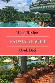 The Padma Resort Ubud is a luxury family friendly hotel in Ubud, boasting a fabulous infinity pool and kids club. A great hotel for a family vacation in Bali.