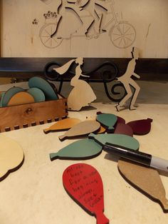 Wedding guest book alternative signing puzzle BICYCLE by PhDs, $185.00