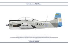 The North American Trojan was a ground-attack and trainer aircraft that was widely used for many decades by air forces all over the world. The Troj. Lancaster, Wii, Armada, Aviation Art, Military Aircraft, North America, Air Force, Fighter Jets, American