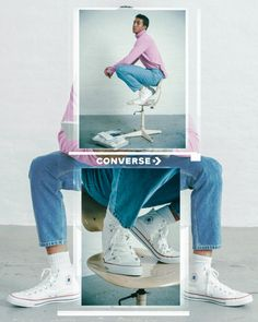 Gif / cinemagraph campaign for Converse, release of the new Chuck Taylor All Star with Zalando. Fashion Graphic Design, Graphic Design Trends, Graphic Design Inspiration, Graphic Design Posters, Lookbook Design, Magazine Layout Design, Instagram Design, Email Design, Fashion Videos