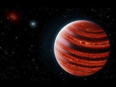Jupiter-Like Exoplanet With Methane Atmosphere Found Unlike most 'Super-Jupiters,' which have the characteristics of very cool stars, 51 Eridani b is much more like a gas giant planet. It orbits its star about 13 times the diameter of Earth's orbit around the Sun. The 51 Eridani system lies about 100 light years away. By: Video From Space.