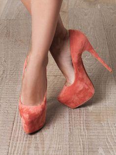 Zapatos de mujer - Womens Shoes - CHRISTIAN LOUBOUTIN  Daffodile 160mm suede pumps