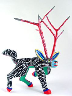 oaxacan wood carvings -