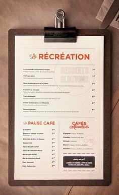 Restaurant branding on Behance
