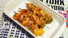 Szaszłyki z kurczaka - shish taouk - Jest Pięknie Cauliflower, Shrimp, Healthy Lifestyle, Grilling, Meat, Vegetables, Impreza, Asia, Food