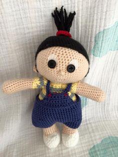 Despicable me. Crochet Agnes