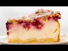 Prajitura cu smantana - cu mult mai fin și delicios decât un cheesecake! Cheesecake, Sweet Pie, No Cook Desserts, Vanilla Cake, Creme, Cookies, Recipes, Food, Baking Desserts
