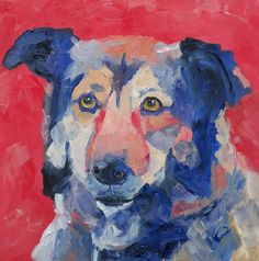 """""""Ryder"""" is 36/100 of SOLD http://saundralanegalloway.blogspot.com/2015/03/ryder-36100-of-100-pet-portraits-in-100.html"""