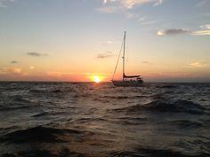 Sailing happily along. DW