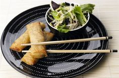 Crepes chineses MAGGI com salada oriental
