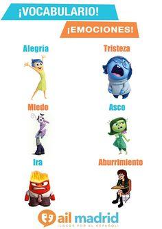 ¡Las emociones en español!  Siempre hay que recordar: Sé Feliz!  --- The emotions in Spanish! Always remember: be Happy!