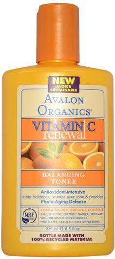 Wholesale Avalon - Organics Vitamin C Balancing Facial Toner 8.5 oz (Case of 3)