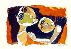 Art Gallery: Oswaldo Guayasamín