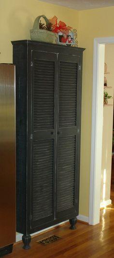 Kitchen Pantry, Kitchen Storage, Sideboard, Etsy Furniture, Kitchen Cabinet by KKFurniture on Etsy
