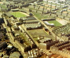 Aerial photos of old football grounds Dundee United, British Football, Online Scrapbook, Sports Stadium, As Roma, Home Team, Fc Barcelona, Old And New, Scotland