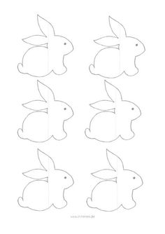 Bunnies! Free pattern Download free pdf: Baby-Deco