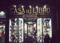 """""""Casa del libro"""" bookstore in Taranto, Italy by Red Beetle, via Flickr"""