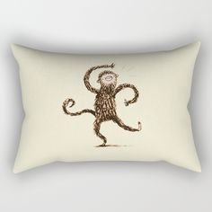 Check out society6curated.com for more! @society6 #illustration #home #decor #homedecor #interior #design #interiordesign #buy #shop #shopping #sale #apartment #apartmentgoals #sophomore #year #house #fun #cool #unique #gift #giftidea #idea #pillows  #monkey #animal #animals #chimp #chimpanzee #drawing #cute #adorable #toocute