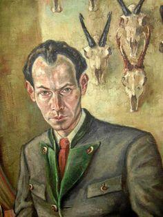 Christian Schad, Self-Portrait, 1930s