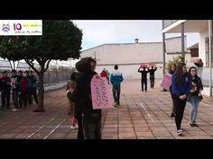 IES SÁCILIS_Día de la paz_Abrazos_curso 2014/15 - YouTube