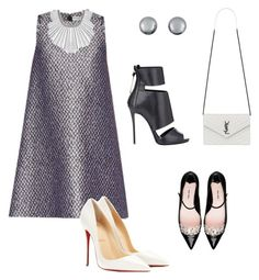 """The Unexpected!!!"" by la-harrell-styling-co on Polyvore featuring Balenciaga, Giuseppe Zanotti, Miu Miu, Christian Louboutin, Lucky Brand, Kenneth Jay Lane and Yves Saint Laurent"